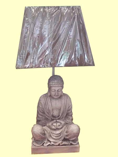 Lampe Bouddha Sagesse - Aux Merveilles D'Asie